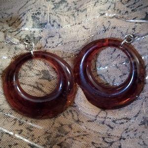Jewelry - Pierced Auburn Earrings
